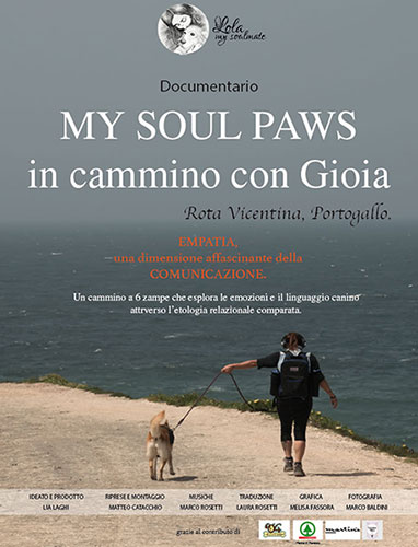 Documentario My Soul Paws in cammino con Gioia